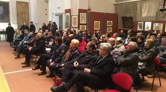 LO SCAMBIO DI AUGURI CON I DIPENDENTI COMUNALI